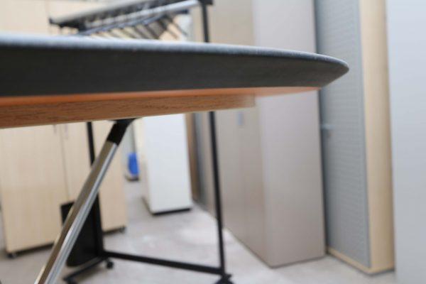 Sedus Meet Table Over Easy 3er mt323 mt334 Orange Außenkantenansicht