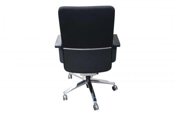 Sedus Of Course Schreibtischstuhl schwarz Mustermöbel Rueckansicht