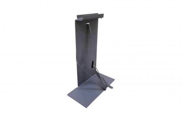 Sedus PC-Gehäusehalter versch. Farben in grau mit langem Boden