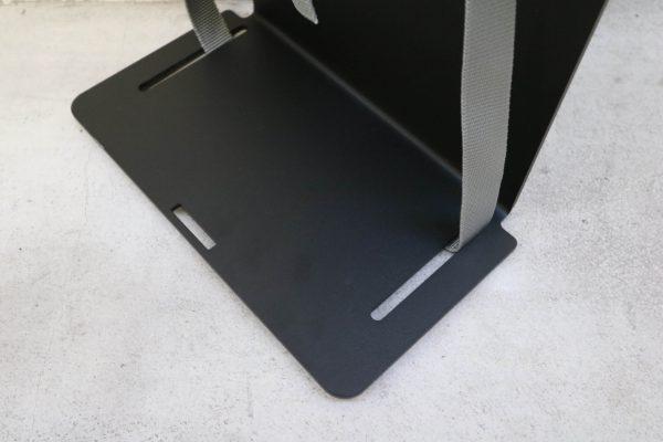 Sedus PC-Gehäusehalter versch. Farben in schwarz unten