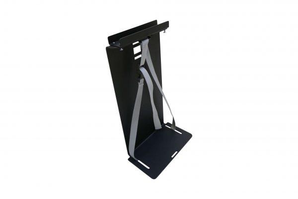Sedus PC-Gehäusehalter versch. Farben in schwarz freigestellte Darstellung