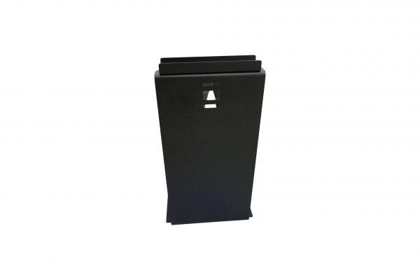 Sedus PC-Gehäusehalter versch. Farben in schwarz von hinten