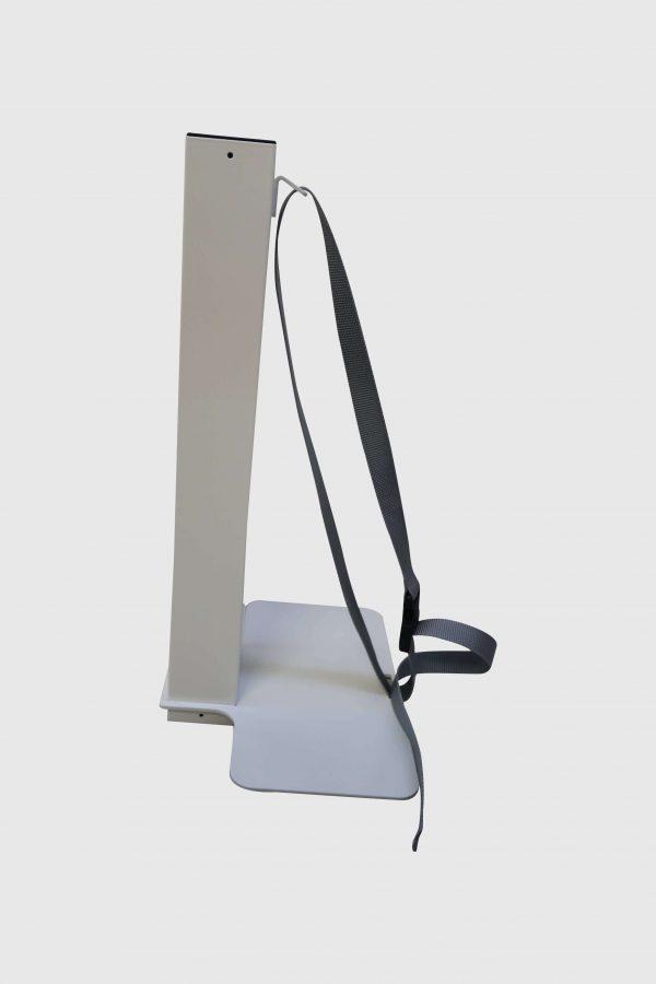 Sedus PC-Gehäusehalter versch. Farben weiß fürs Tischbein