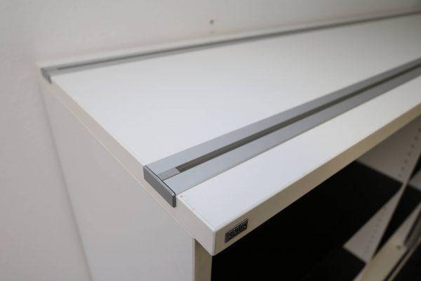 Sedus Querrollosideboard 3 OH Detailaufnahme Orgarail