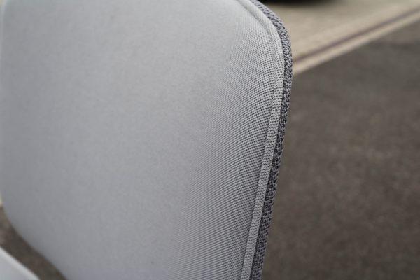 Sedus Se motion Highchair versch. Farben grau weiss Detail Rücklehne Stoff