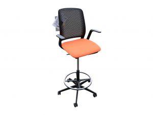 Sedus Se motion Highchair versch. Farben orange freie Ansicht