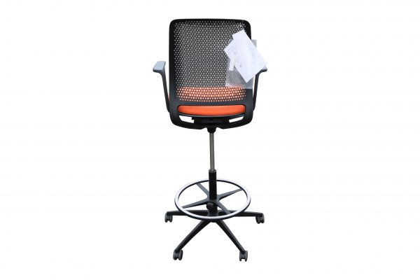 Sedus Se motion Highchair versch. Farben orange Rückansicht