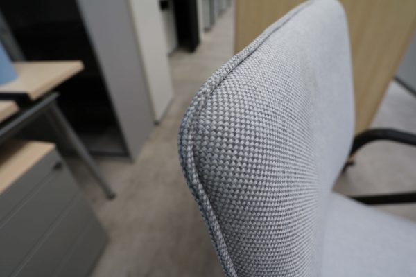 Sedus Seline Drehstuhl in Grau Detail Stoff