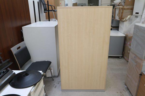 Steelcase Hängeregister Schrank 4OH Ahorn Silbergrau Rückseite