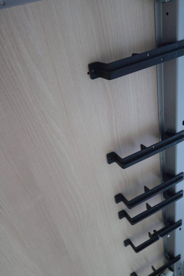Steelcase Kalidro Schulungstisch Akazie 120 cm Kabelaufnahme