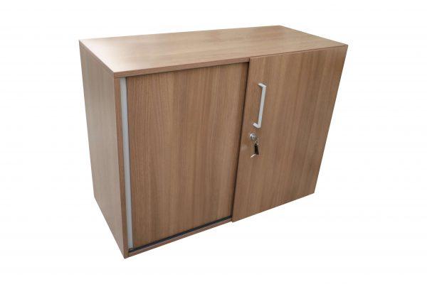Steelcase Schiebetüren Sideboard Nussbaum 2OH 120 cm Stertseitenbild