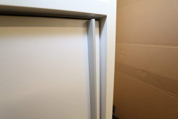 Stoll Highboard Weiß 150 griffleiste