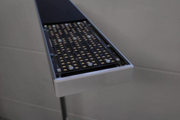 Tobias Grau LED Stehleuchte weiß grau Uplights