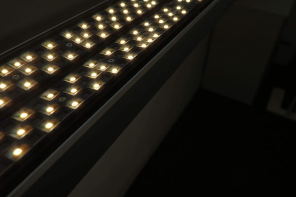 Tobias Grau XTA-Floor Leuchte LED silberfarben LED Uplights an