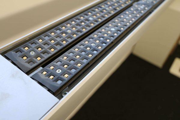 Tobias Grau XTA-Floor Leuchte LED silberfarben LED Uplights aus