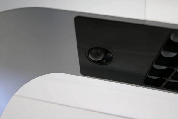 Tobias Grau XTA-Floor Leuchte LED silberfarben Präsenzwächter