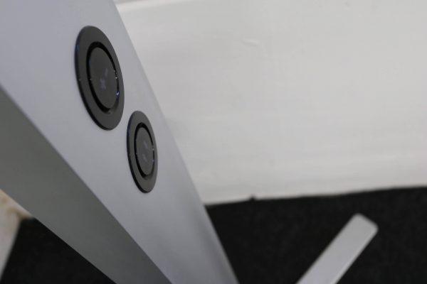 Tobias Grau XTA-Floor Leuchte LED silberfarben Schalter