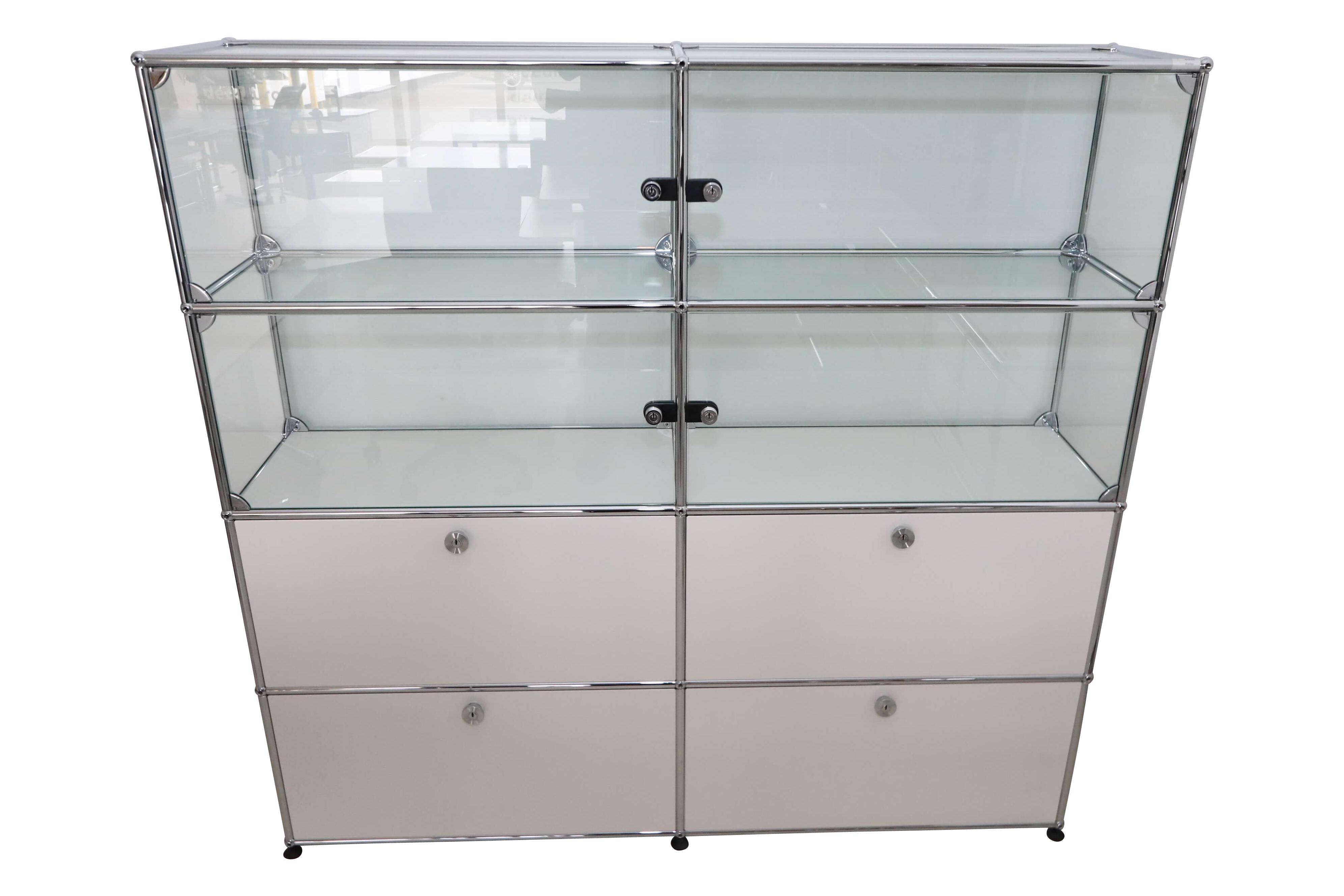 Usm Haller Sideboard Glas Weiss Gebraucht