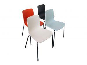 Vitra Hal Tube Stuhl verschiedene Farben Übersicht