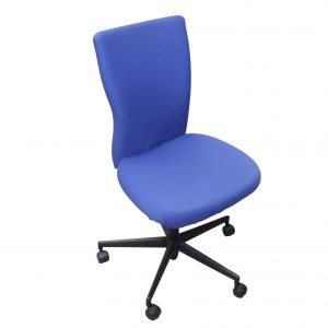 Vitra T-Chair Drehstuhl in blau