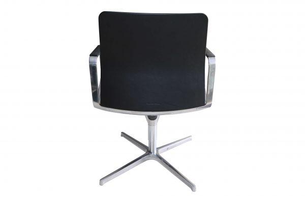 walter knoll lead chair schwarz rueckansicht