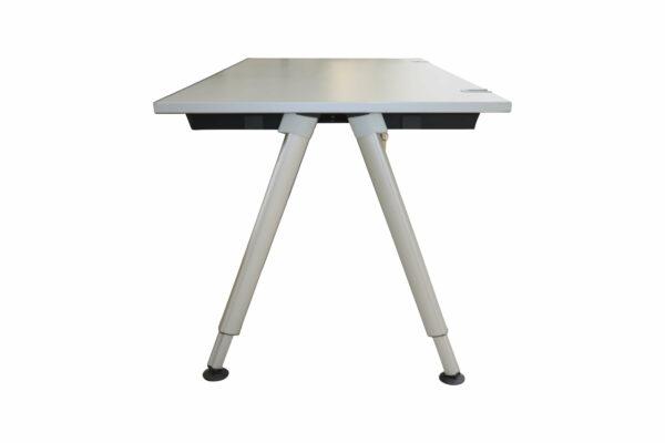 Wini Schreibtisch mit Rollcontainer Tisch seitlich allein